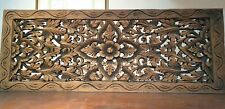Vintage Carved Wood Wall Decoration