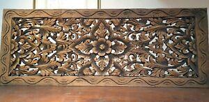Vintage Carved Wood Wall Decoration