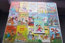 Walt disney lot de 16 livres mickey club du livre 1974-1986 hachette