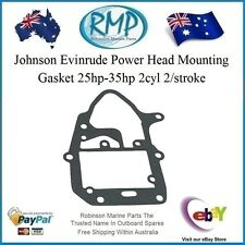 A Brand New Power Head Mounting Gasket Johnson Evinrude 25hp-35hp # 319710