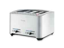 Breville Die-Cast 4-Slice Smart Toaster Die-Cast Metal Design Brushed 900 Watts