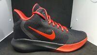 Nike Precision III Men's Black University Red Basketball Sneakers AQ7495-001