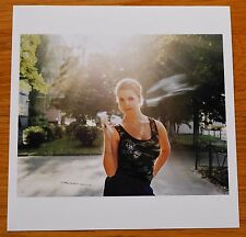 "SIGNED JIM GOLDBERG WOMAN SMOKING KIEV UKRAINE LTD 6"" x 6"" MAGNUM ARCHIVAL PRINT"
