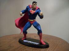 "DC Universe Online SUPERMAN Ltd Ed 6 1/4"" Statue #0875/5000 based on Jim Lee"
