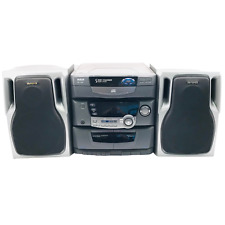 New listing Rca Rs1285 5-Cd Audio System Am/Fm Radio Cassette Player No Remote 2 Speakers