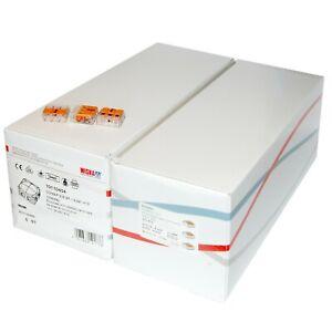10 X Wiska 308/5/S Black IP66 Weatherproof Combi Junction Boxes c/w Wago