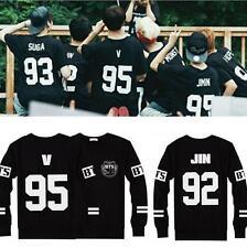 Kpop BTS Sweater Bangtan Boys Hoodie Pullover Jungkook V J-hope Jumper Jimin Hot