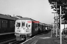 PHOTO  1995 SMITHAM RAILWAY STATION CLASS 319 TRAIN TURNED UP AS THE 07 18 UP TR