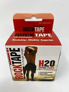Rocktape H2O Sport Injury Tape Extra Sticky Adhesive Kinesiology Rolls 5M Beige