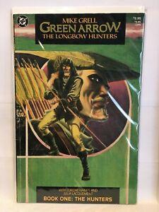 Green Arrow Longbow Hunters #1 VF- 1st Print DC Comics