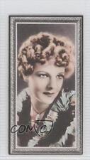 1936 Godfrey Phillips Stars of the Screen Tobacco Base #39 Elissa Landi Card 0v9