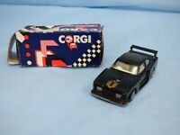 Corgi Black Ford Capri 3.0S Zakspeed Homefire Diecast Racing Car Toy With Box
