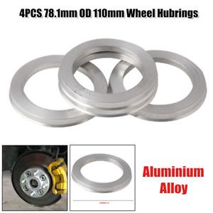 4PCS Wheel Hub Centric Rings 110 to 78.1mm OD 110mm ID Wheel Hubrings Universal