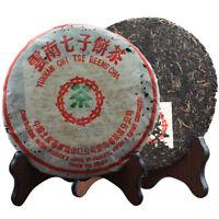 2003 Yunnan Zhongcha Tea Factory Green Seal Aged Puer Puerh Raw Sheng Tea 357g