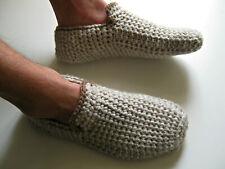 Crochet Men's Slippers, Gift for Men, Christmas Gifts, Wool Slipper Socks