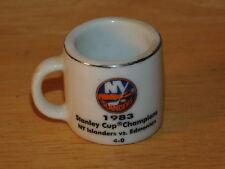 NHL STANLEY CUP CRAZY MINI MUG NEW YORK ISLANDERS 1983 CHAMPS