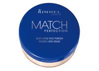 Rimmel Match Perfection Loose Powder 001 Transparent Long-Lasting Natural Finish