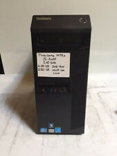 Lenovo ThinkCentre M91p Tower Core i5-2400 3.10GHZ 4GB 250 HDD DVDRW Linux