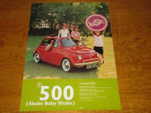 LUSH - 500 (SHAKE BABY SHAKE) - ORIGINAL UK 4AD PROMO POSTER - NEAR MINT!!