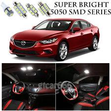 5050 SMD White LED Interior Lights Package Kit For 2014-2016 Mazda 6 10pcs