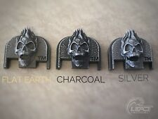 Lead Tactical Fire Skull for Glock Slide Rear Back Plate Cover FREE SHIPPING