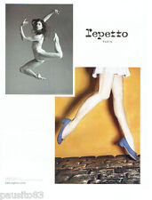 PUBLICITE ADVERTISING  026 2010  Repetto  chaussures   Marie-Agnès Gillot