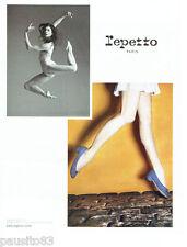 PUBLICITE ADVERTISING  026 2010  Repetto  chaussures   Marie-Agnès Gillot