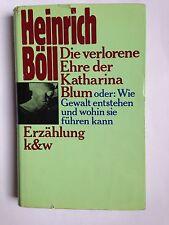 Heinrich Boll, DIE VERLORENE EHRE DER KATHARINA BLUM, kiepenheuer & witsch, 1974