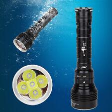 Underwater 100m SKYRAY 15000LM 5x XM-L2 LED Scuba Diving Flashlight Torch Light