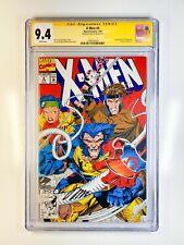 X-Men 4 CGC 9.4 Signed by Jim Lee 1st app Omega Red (Arkady Gregorivich)