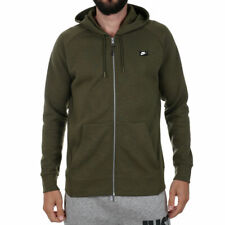 Nike Sportswear Optic Full-Zip Hoodie | Men's 2XL XXL | 928475 395 Olive Green