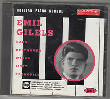 EMIL GILELS - russian piano school CD