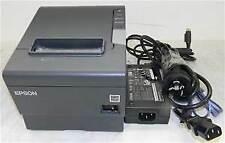 Epson Black Receipt Printer M265a Tm T88v I M262a Interface Usb Network Serial
