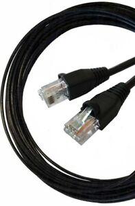 50m Cat6 RJ45 Extension UTP Lead 100% Copper  Outdoor External Gigabit CCTV POE