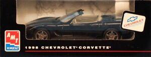 AMT ERTL 1:25 1998 Chevrolet Corvette Corvette Black Built Model Car #8270