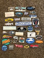 36 Fly Fish Fishing Stickers Angler Scotty Orvis Lamson Umpqua Squidnation Zebco