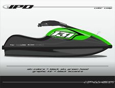 IPD Jet Ski Number Plate Kit for Kawasaki SXR (Tech Design)