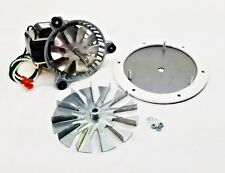 """US Stove King Combustion Exhaust Fan Motor Blower 80473 + 4 3/4"""" AMP-UNIVCOMBKIT"""