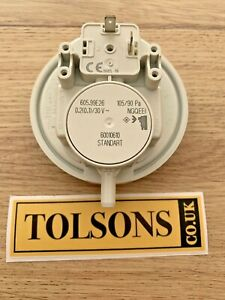 Vaillant Turbomax VUW 242 282 242/1 282/1E Air Pressure Switch 050577 0020018138