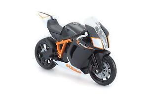 Bburago KTM 1190 RC8 R Orange 1/18 Scale Diecast Bike Model
