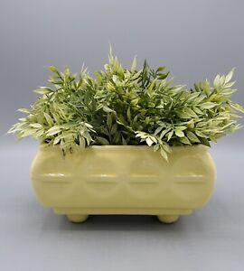 Cookson Pottery CP 557 USA Yellow Pottery Planter 7x 5, EUC