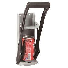 Morgan HEAVY GAUGE STEEL CAN CRUSHER +Bottle Cap Opener, Comfortable Grip Handle