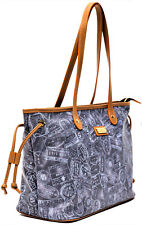 Borsa Piccola Donna Denim Alviero Martini Small Bag Woman Blue