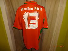 "SpVgg Greuther Fürth Jako Auswärts Trikot 10/11 ""ohne Sponsor"" + Nr.13 Gr.XL Neu"