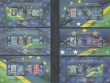 Timbres 50 ans de timbres Europa Salomon BF71/6 ** de 2005 lot10697 -cote : 30 €