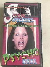 Frank Henenlotter's Sexy Shockers Psycho Reel 1994 VHS