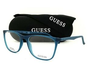 New Guess Eyeglasses 9150 088 Blue 52•17•135 With Guess Case