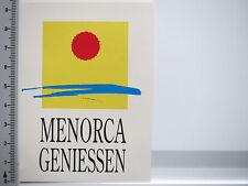 Aufkleber Sticker Menorca - Spanien - Insel - Urlaub (5293)