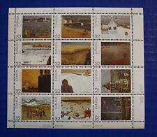 CANADA (#1027a) 1984 Canada Day Provincial & Territorial Landscapes MNH sheet