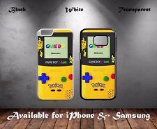 Retro Nintendo Game Boy Pokemon Pikachu Edition Hard Phone Case Cover N311